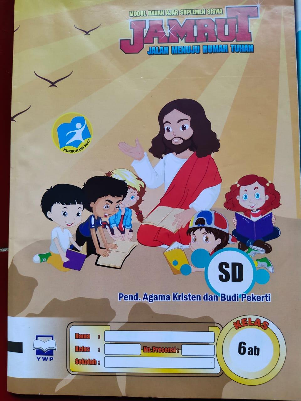 Distributor Supplier Jual Lks Sd K13 Agama Kristen Kelas 6 Semester 1 Dan 2 Merk Jamrut Best Choice Book Store